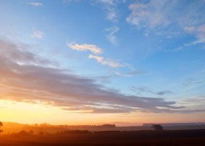 Sunrise over The Merse, Scotland | Ⓒ JCNicholson