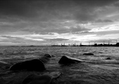 Sea fence, England | Ⓒ JCNicholson