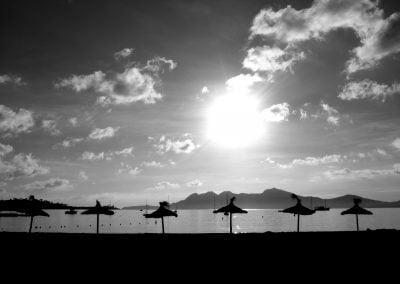 Parasols, Majorca | Ⓒ JCNicholson