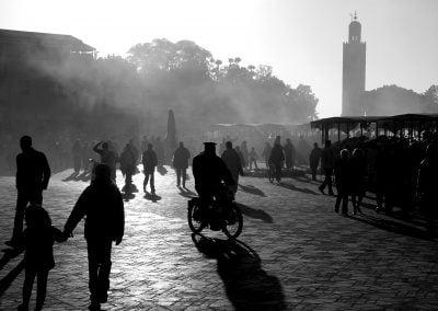 Djemaa el Fna, Morocco | Ⓒ JCNicholson