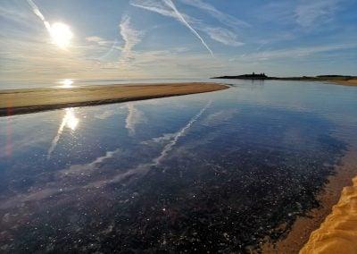 Embleton Bay, England | Ⓒ JCNicholson