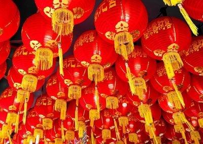 Lanterns, Penang | Ⓒ JCNicholson