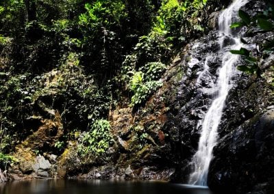 Waterfall, Lankawi | Ⓒ JCNicholson