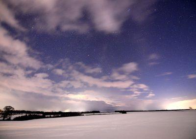 Orion over the Merse, Scotland | Ⓒ JCNicholson